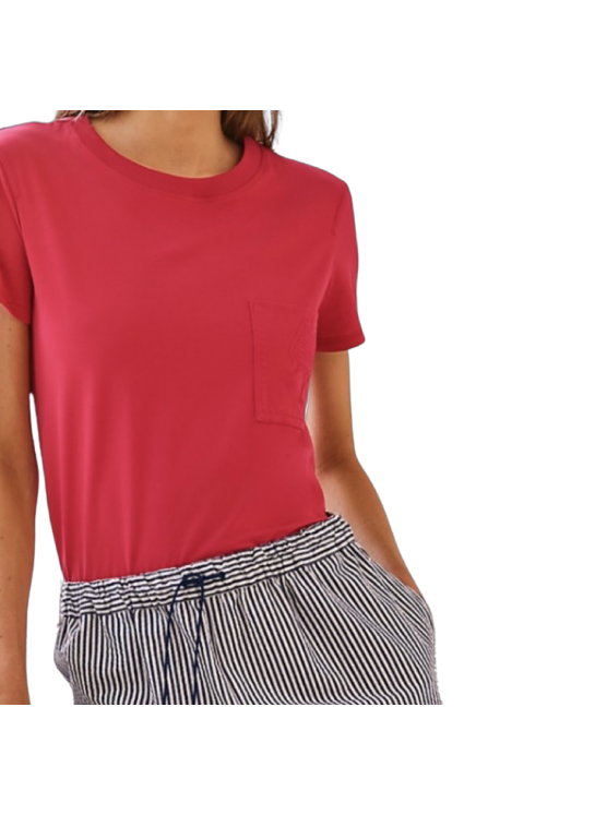 Hermès Micro embroidered pocket t-shirt