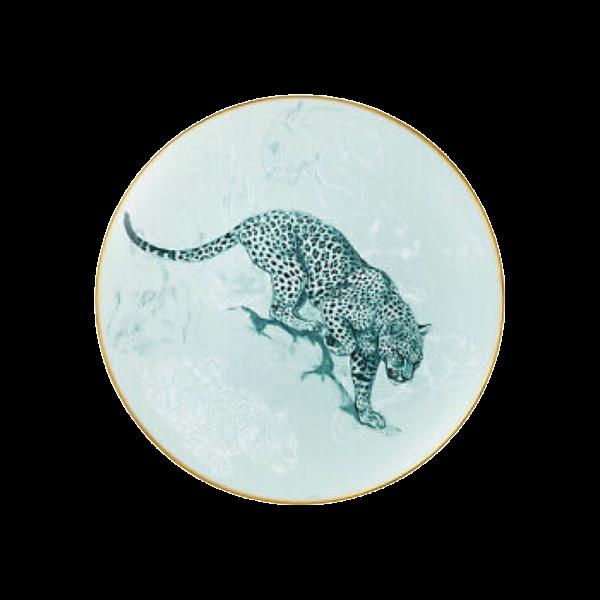 Hermès Plate Panthers