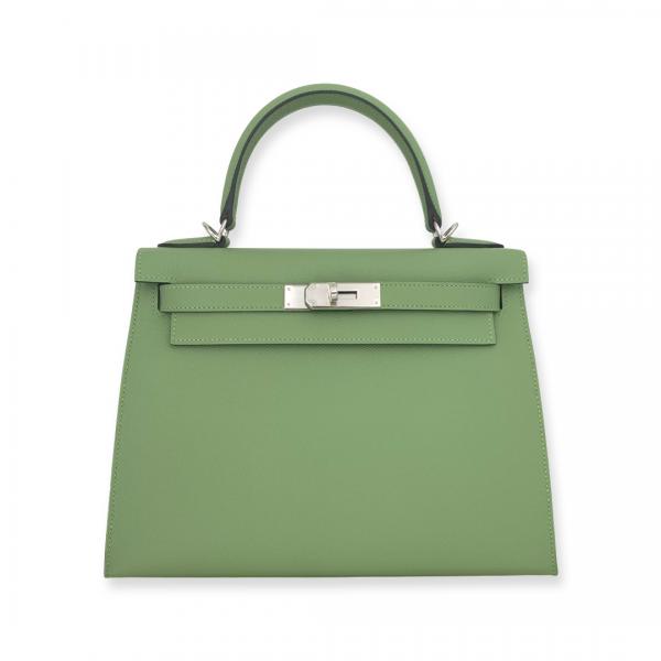 Hermès Kelly 28 Vert Criquet