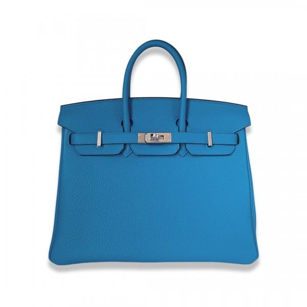 Hermès Birkin 25 Bleu Zanzibar