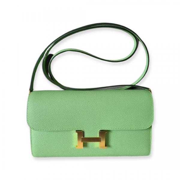 Hermès Constance To Go Vert Criquet