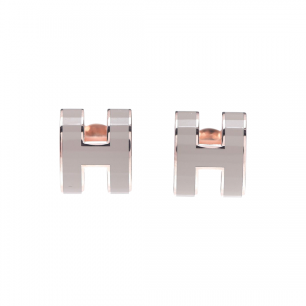 Hermès earrings  Pop H mini