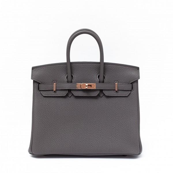 Hermès Birkin 25 Gris Etain