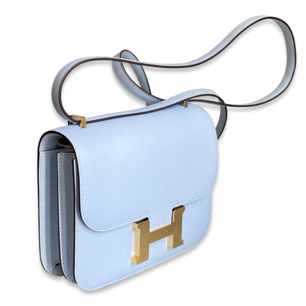 Hermès Constance 18 Bleu Brum
