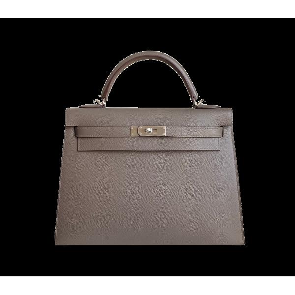 Hermès Kelly 32 Gris Etain