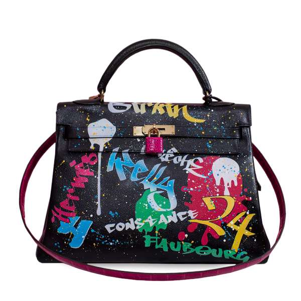 Customized Hermès Kelly bag