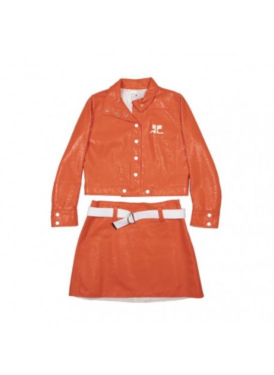 COURREGES Jacket & Skirt