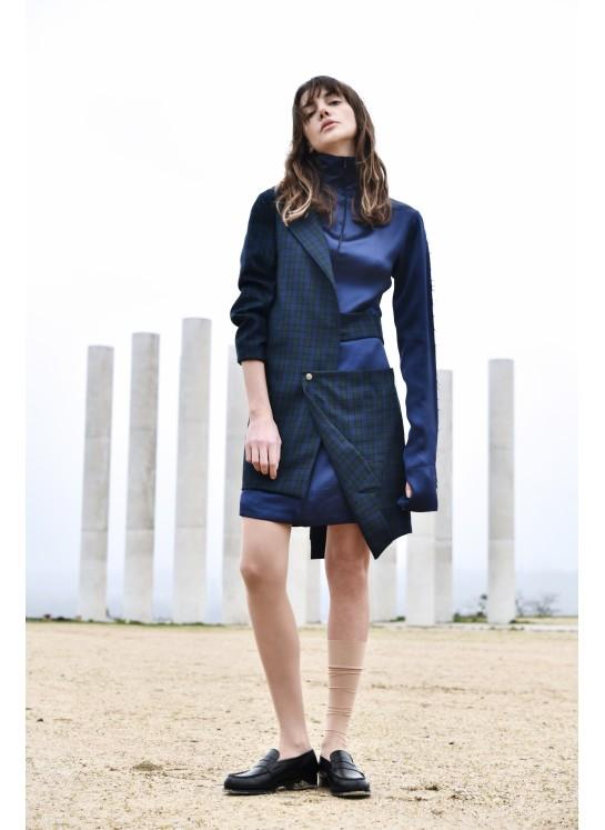 Reversed jacket-dress